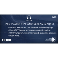 Logo of the podcast W05: Pro Player Tips & Scream Market