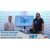 Logo of the podcast Routing Messages in Azure IoT Hub based on Device Twin | Internet of Things Show