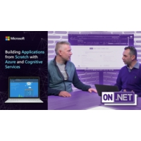 Logo of the podcast Building Applications from Scratch with Azure and Cognitive Services | On .NET