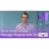 Logo of the podcast Visual Studio for Mac: Manage Projects with Git | Visual Studio Toolbox