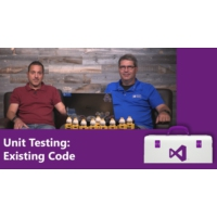 Logo of the podcast Unit Testing: Existing Code | Visual Studio Toolbox