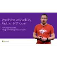 Logo of the podcast Windows Compatibility Pack for .NET Core | Connect(); 2017