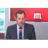 """Logo of the podcast Élu la France insoumise appelant à voter RN : """"Un choix honnête et cohérent"""", dit Bay"""