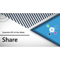 Logo of the podcast Share (Xamarin.Essentials API of the Week) | The Xamarin Show