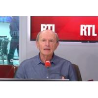 """Logo of the podcast Jean-Louis Étienne sur RTL : """"Au pôle Nord, je parlais à mon traîneau"""""""
