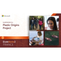 Logo of the podcast Microsoft France: Surfrider EU | Plastic Origins Project | CodeStories