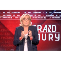 Logo du podcast Le Grand Jury de Marine Le Pen