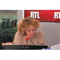 """Logo of the podcast Fake-news : Marine Le Pen """"s'arrange avec des réalités"""", estime Alba Ventura"""