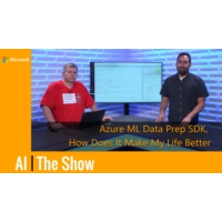 Logo du podcast How the Azure ML Data Prep SDK Will Make Your Life Better   AI Show