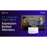 Logo of the podcast C# Language Highlights: Expression Bodied Members | On .NET