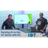 Logo of the podcast Running AI on IoT microcontroller devices with ELL | Internet of Things Show