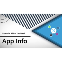 Logo of the podcast App Information (Xamarin.Essentials API of the Week) | The Xamarin Show