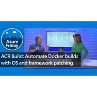 Logo of the podcast ACR Build: Automate Docker builds with OS and framework patching | Azure Friday