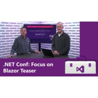 Logo of the podcast .NET Conf: Focus on Blazor Teaser | Visual Studio Toolbox