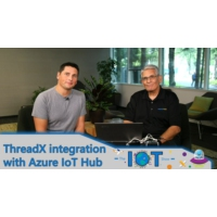 Logo of the podcast ThreadX integration with Azure IoT Hub | Internet of Things Show