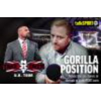 Logo of the podcast Gorilla Position ep050: Triple H talks NXT, WWE TLC review, Roman Reigns new champion!