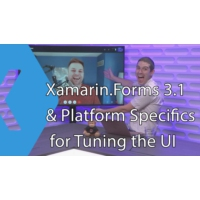 Logo of the podcast Xamarin.Forms 3.1 & Platform Specifics for Tuning the UI | The Xamarin Show