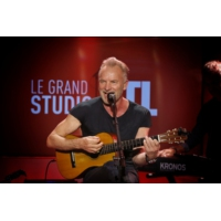 "Logo of the podcast Sting en concert dans ""Le Grand Studio RTL"""