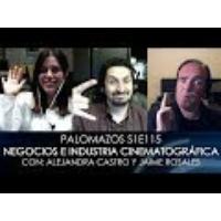 Logo of the podcast Palomazos S1E115 - Negocios e Industria Cinematográfica en México
