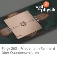 Logo of the podcast Folge 263 – Quantensensorik