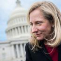 "Logo of the podcast Representative Abigail Spanberger and the ""National-Security Democrats"" Turn the Tide on Impeachment"