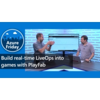 Logo of the podcast Build real-time LiveOps into games with PlayFab | Azure Friday