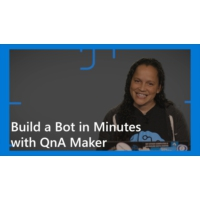 Logo of the podcast Build a Bot in Minutes with QnA Maker | AI Show