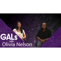 Logo of the podcast Interview with Olivia Nelson - Queen of Marketing Nerds  | GALs