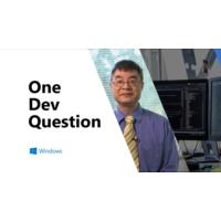 Logo of the podcast One Dev Question with Raymond Chen - Why don't build numbers reset after a major version is release…