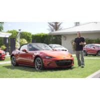 Logo du podcast 2016 Mazda MX-5 Reviewed