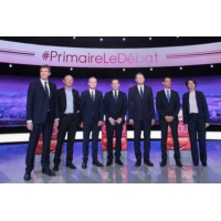 """Logo du podcast Primaire de la gauche : """"Le grand vainqueur de ce débat, c'est Macron"""""""