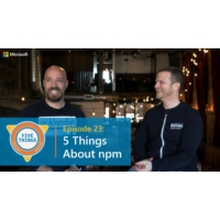 Logo of the podcast Episode 23: Five Things About npm | Five Things