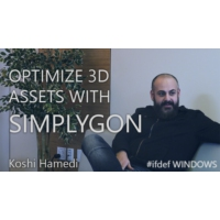 Logo of the podcast #ifdef SIMPLYGON - Optimizing 3D assets | #ifdef WINDOWS