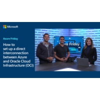 Logo of the podcast How to set up a direct interconnection between Azure and Oracle Cloud Infrastructure (OCI) | Azure …