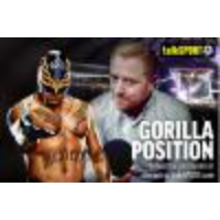 Logo of the podcast Gorilla Position ep043: Rey Mysterio interview, Hell in a Cell review, WWE RAW recap