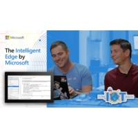 Logo of the podcast The Intelligent Edge by Microsoft | Internet of Things Show