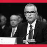 Logo of the podcast Former FBI Deputy Chief Andrew McCabe and Trump, Inc. Compare Notes