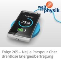 Logo of the podcast Folge 265 – Drahtlose Energieübertragung