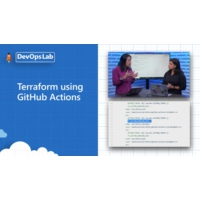 Logo of the podcast Azure DevOps Lab- Terraform using GitHub Actions | The DevOps Lab