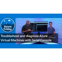 Logo of the podcast Troubleshoot and diagnose Azure Virtual Machines with Serial Console | Azure Friday