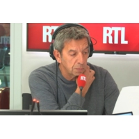 """Logo du podcast """"Le test de virginité n'est ni un jeu, ni un acte gratuit"""", met en garde Michel Cymes"""
