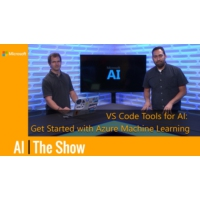 Logo of the podcast Get Started with Azure Machine Learning with VS Code Tools | AI Show