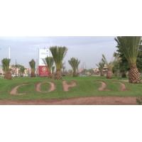 """Logo of the podcast المنطقة الخضراء في قرية """"كوب22""""...فضاء للتواصل حول المناخ"""