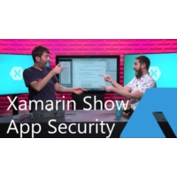 Logo of the podcast Mobile App Security with Kerry W. Lothrop | The Xamarin Show