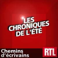 "Logo of the podcast ""Chemins d'écrivains"" : Philippe Djian"
