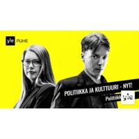 Logo du podcast Politiikkaradio Sideways-festivaalilla: Miten kulttuuri vaikuttaa politiikkaan?