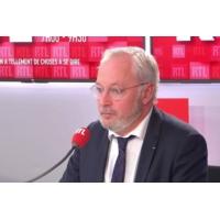 """Logo of the podcast Plomb à Notre-Dame : """"Aucun ouvrier n'a été contaminé"""" rappelle l'architecte sur RTL"""