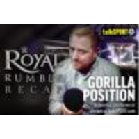 Logo of the podcast Gorilla Position ep054: WWE author Jon Robinson, Royal Rumble review + WrestleMania predictions