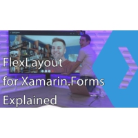 Logo of the podcast FlexLayout for Xamarin.Forms Explained | The Xamarin Show