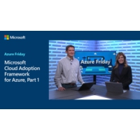 Logo of the podcast Microsoft Cloud Adoption Framework for Azure, Part 1 | Azure Friday